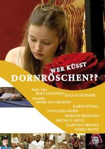 Plakat | poster - Wer küsst Dornröschen??
